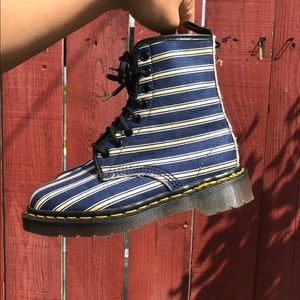 BLUE AND WHITE AUTHENTIC DR. MARTENS (RARE)